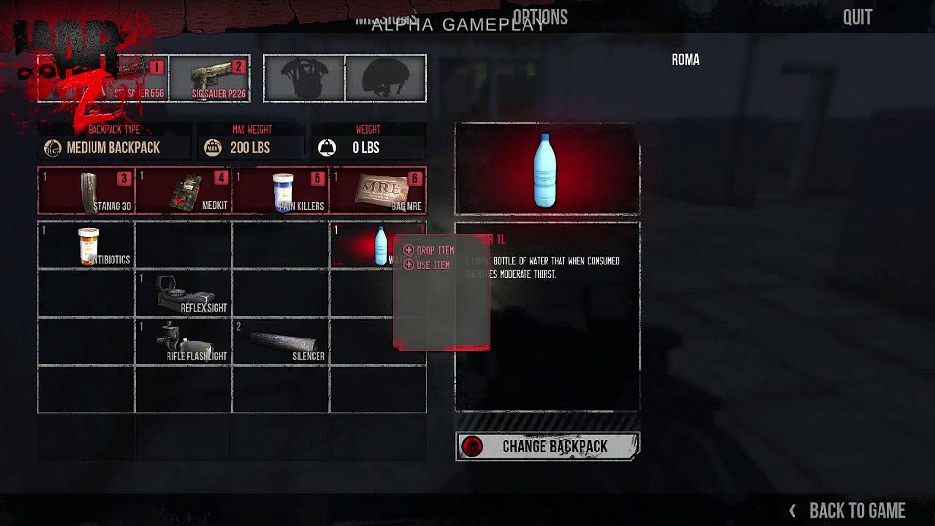 Extrait / Gameplay - The War Z (Alpha Gameplay Demonstration)