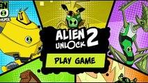 Cartoon Network Games  Ben 10 Omniverse Games   Alien Unlock 2