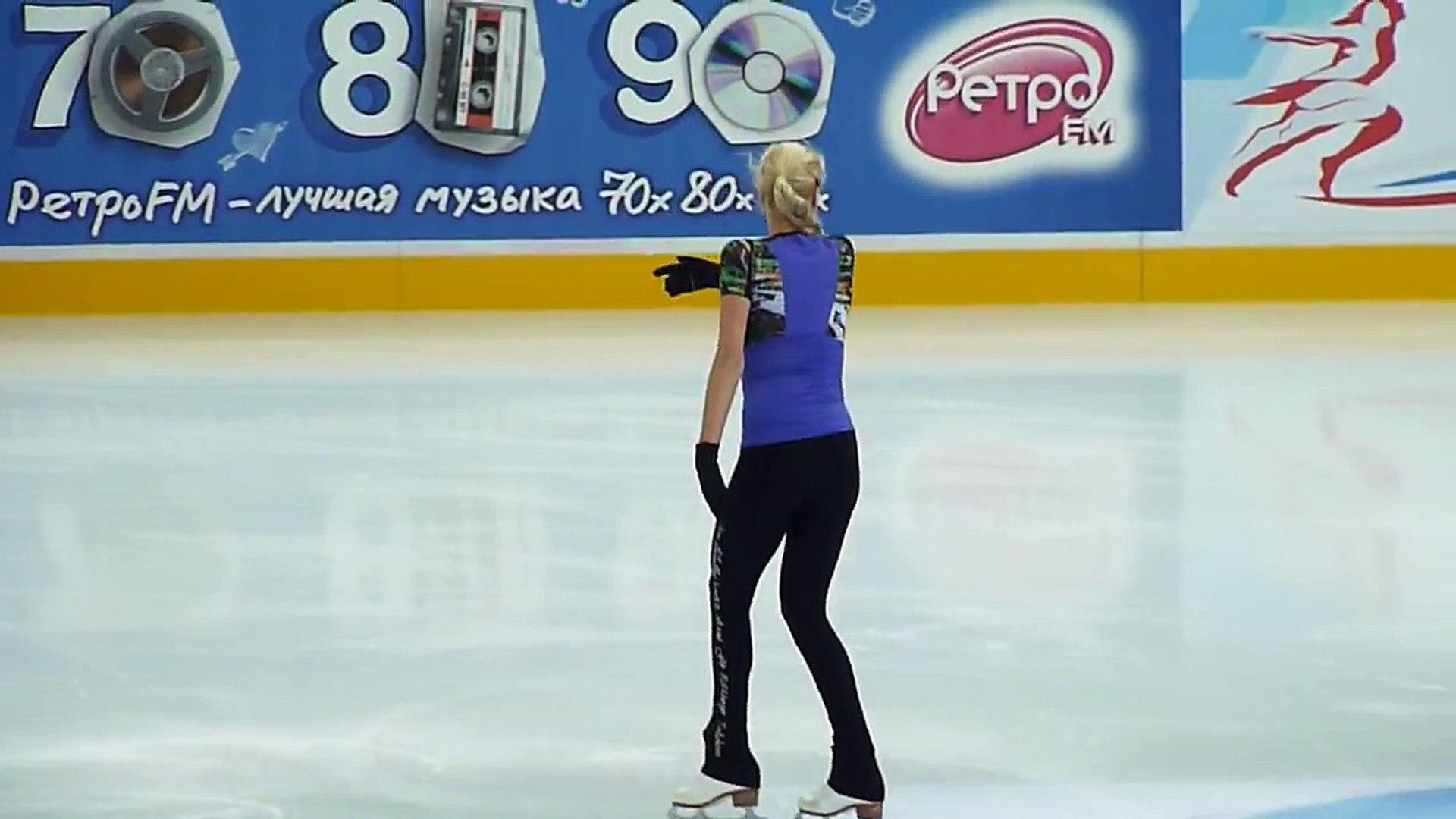 Анна Погорилая КП на тренировке (ЧР 2015)