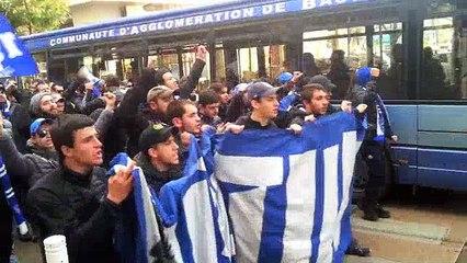 retour des supporters bastiais