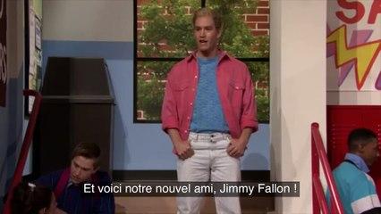 Jimmy Fallon réunit le casting de Sauvés par le gong 20 après (VOST)