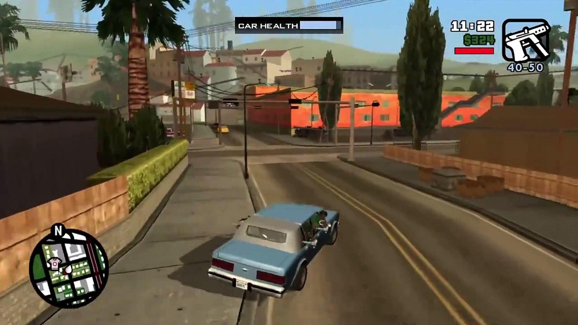 GTA San Andreas HD Walkthrough Part 4 - SWEET'S GIRL - San Andreas Remastered Gameplay