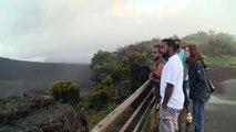 Ile de la Réunion: le Piton de la Fournaise en éruption