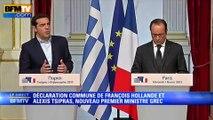 Tsipras : «Nous ne sommes pas une menace pour l'Europe»