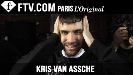 Kris Van Assche Men Backstage | Paris Men's Fashion Week Fall/Winter 2015-16 | FashionTV