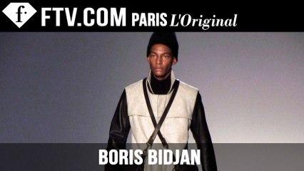 Boris Bidjan Men Designer's Inspiration | Paris Men's Fashion Week Fall 2015-16 | FashionTV