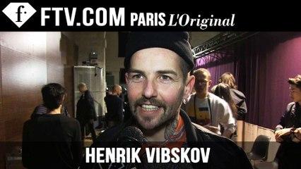 Henrik Vibskov Men Backstage | Paris Men's Fashion Week Fall/Winter 2015-16 | FashionTV