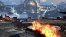 Extrait / Gameplay - God of War: Ascension (Le Boss de Delphes - Chauve-Souris Scorpion)