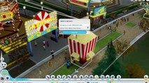 Extrait / Gameplay - SimCity 5 (Tuto DLC Amusement Park - Theme Park is Back !)