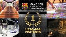 El Museu del Barça, el més visitat de Catalunya el 2014