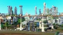 Extrait / Gameplay - SimCity 5 (Villes de Demain - Académie et OmegaCo)