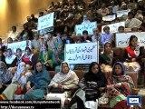 Dunya News - Peshawar: School children observe Kashmir Solidarity Day