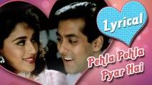 Lyrical: Pehla Pehla Pyar Hai with lyrics   Salman Khan, Madhuri Dixit   Hum Aapke Hain Koun