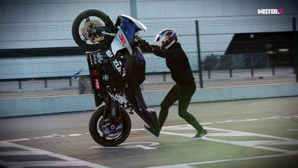 Superbike freestyle on Gsxr with Thibaut Nogues (TRAILER)