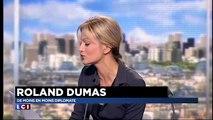 """Roland Dumas : """"Les hommes politiques attirent"""""""