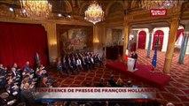 Conférence de presse : Hollande sur l'Ukraine, la législative dans le Doubs, les attentats qui l'ont changé et les statistiques ethniques