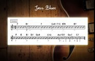 Jazz Blues Jam Track In Various Keys - Guitar Backing Track