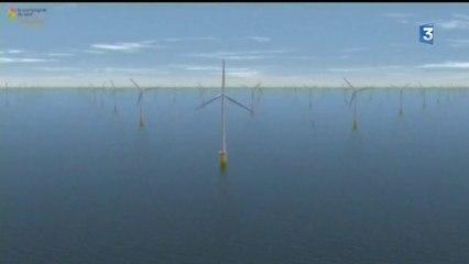 Biville-sur-Mer (76) : un mât de mesure pour le projet éolien en mer