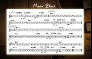 Minor Blues Jam Track In Various Keys - Guitar Backing Track