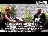 Promotion de la Loire à vélo en musique à la guinguette de Tours