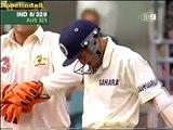 Ajit Agarkar raises his bat scoring first run after record 7 consecutive ducks - Funny Indian cricket moment
