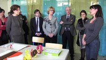 La ministre Roselyne Bachelot-Narquin visite l'association ALEPA