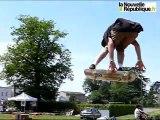 compétition de skate board du mogwai skate team à Bressuire