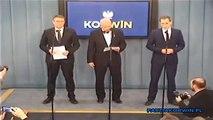 Janusz Korwin-Mikke - Stanowisko partii KORWiN wobec sytuacji w górnictwie [05.02.2015]