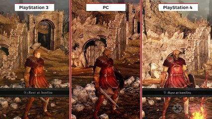 Comparaison PS4/PS3 de Dark Souls II : Scholar of the First Sin