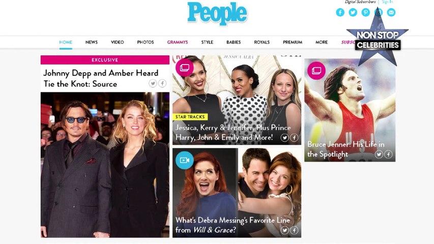 Johnny Depp et Amber Heard enfin mariés !