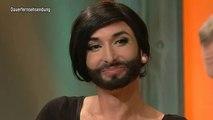Conchita Wurst TV total 17.05.2012