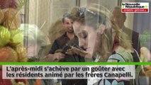 VIDEO. Bernadette Chirac et Mireille Darc en visite au CHU de Poitiers