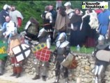 VIDEO. Monbazon : les chevaliers s'affrontent dans la forteresse du Faucon noir