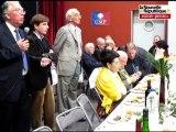 """VIDEO. Châtellerault: soupe à la grimace à la """"choucroute républicaine"""" de l'UMP"""