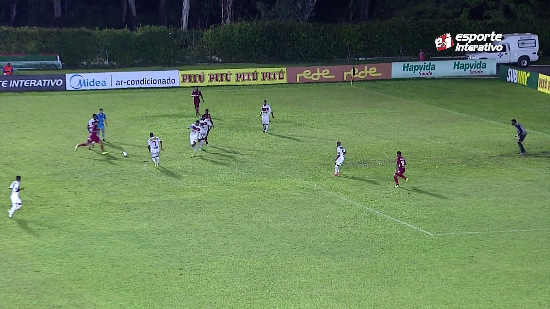 Daniel Costa aumenta para o América-RN, 4 x 1 contra o Serrano-BA, pela Copa do Nordeste