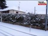 VIDEO Châtellerault ! petite promenade en ville sous la neige