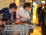 VIDEO. Loches - Le guitariste de la Mano Negra en concert à Loches