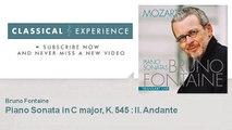 Wolfgang Amadeus Mozart : Piano Sonata in C major, K. 545 : II. Andante