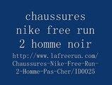 Vendre chaussures nike free run 2 homme pas cher (noir) en ligne dans France