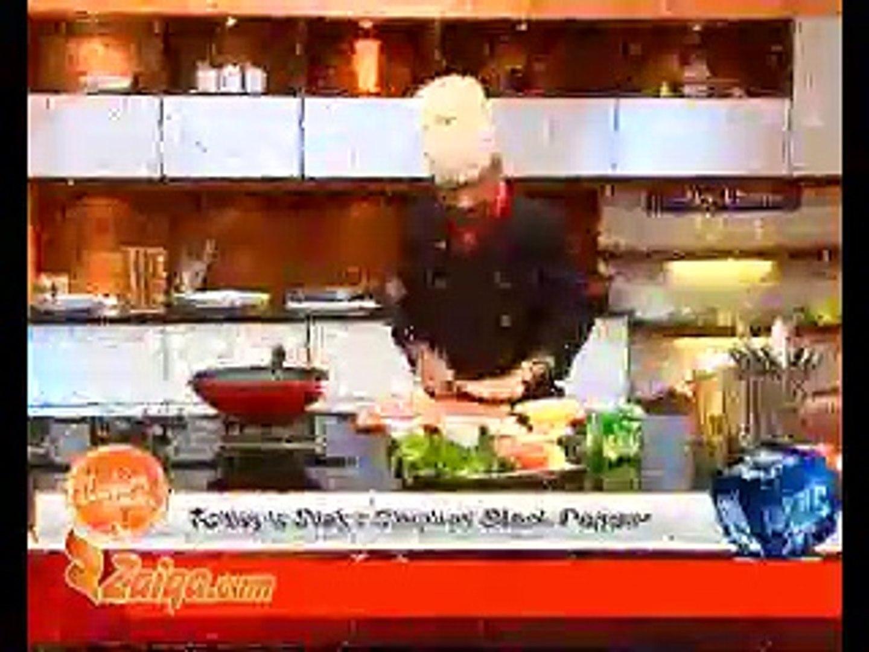 Chicken Black Pepper & Prawn Vegetable Crystal Style by Chef Zakir