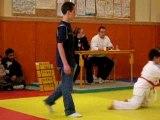 Compétition judo fev 2006