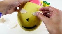 Giant Surprise Eggs Zelda Play Doh Huevos Sorpresa Plastilina Toy Fill Playdough Egg Tutorial DCTC