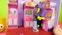 Play Doh Simpsons Bart   Homer Donut Surprise Eggs Noiseland Arcade Playset Lego Toys Playdough DCTC