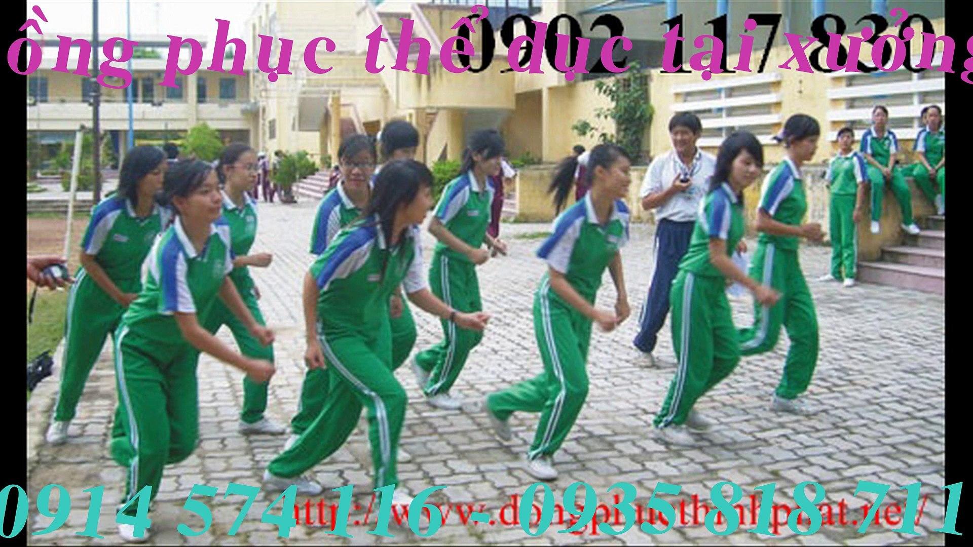 0914 574 116 Cơ sở may Đồng phục thể dục học sinh số lượng nhiều giá rẻ