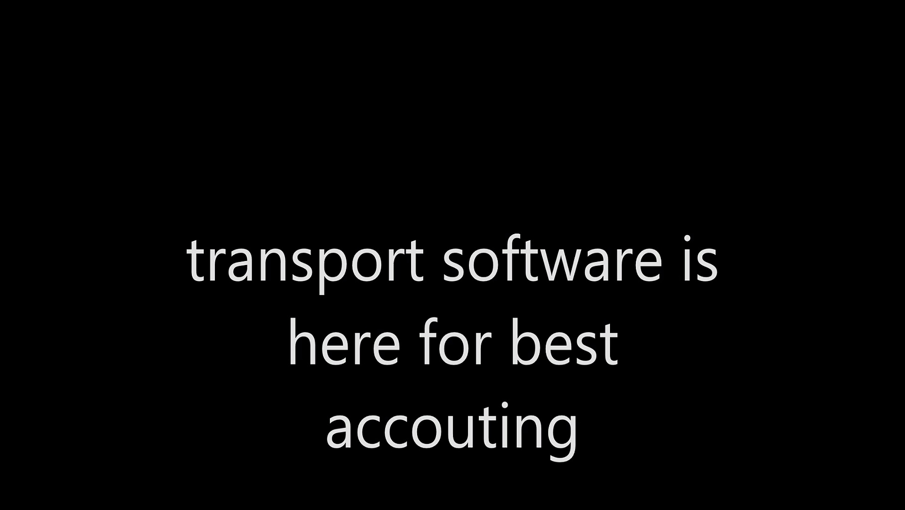 Best Transport Software|Transport Software|Transport Accounting Software