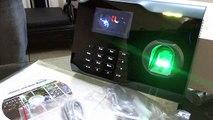 Zkteco iClock 680 RFID reader demo - video dailymotion