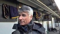Pierre Levesque, driver du 11, Tagada Tagada, lors du Prix des Vosges, dimanche 8 février à Vincennes
