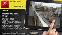 A vendre - appartement - BOURGES (18000) - 3 pièces - 55m²