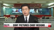 Sony Pictures chief resigns after hacking scandal