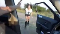 Pilot goes crazy for dancing girls